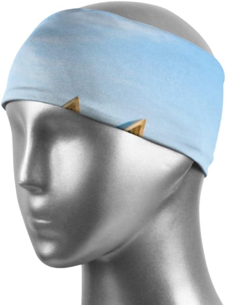 CHQTG Headbands for Men and Women City Skyline Sydney Australia Circular Quay Lite Men-Sweatband & Sports Headband Moisture Wicking Workout Sweatbands for