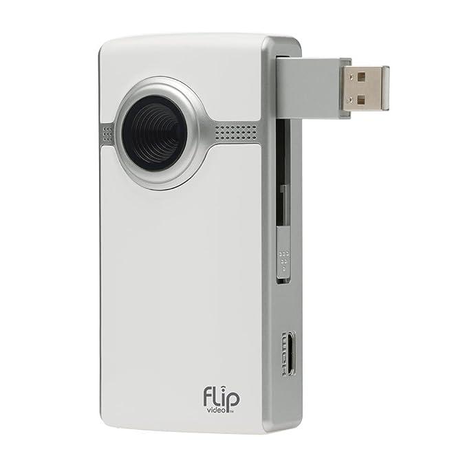 amazon com flip ultrahd video camera white 4 gb 1 hour rh amazon com Flip Ultra HD 3rd Generation Flip Ultra HD Touch Screen 16GB