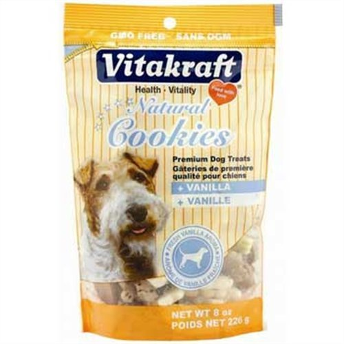 Vitakraft Natural Cookies, 8-Ounce, My Pet Supplies