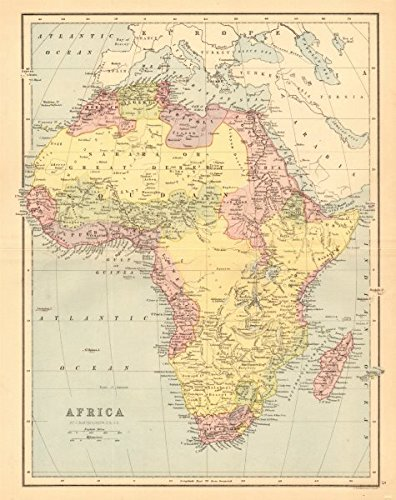 AFRICA. Pre 'Scramble for Africa'. BARTHOLOMEW - 1876 - old ... on meiji restoration map, algerian war map, berlin conference map, first world war map, rush for africa map, 19th century map, german occupation of czechoslovakia map, colonial world map, industrial revolution map, scramble for colonies, russian soviet federative socialist republic map, uk postcode map, african independence map, imperialism map, treaty of tordesillas line map, scramble for china map, territorial acquisition map, scramble for europe, balkan wars map,