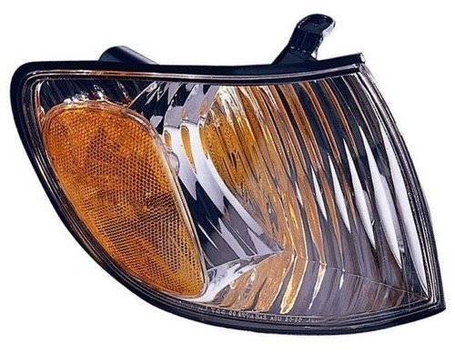 (Go-Parts » OE Replacement for 2001-2003 Toyota Sienna Turn Signal Light Assembly/Lens Cover - Front Right (Passenger) Side 81510-08020 TO2531138)