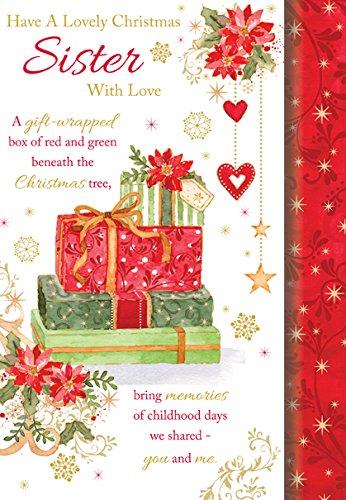 Regali Di Natale Inglese.Biglietto Per Auguri Natalizi Per Sorella Scritte In Lingua