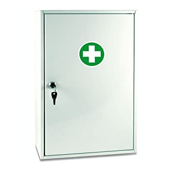 Superior Reliance Medical White Sofia Metal Wall Cabinet