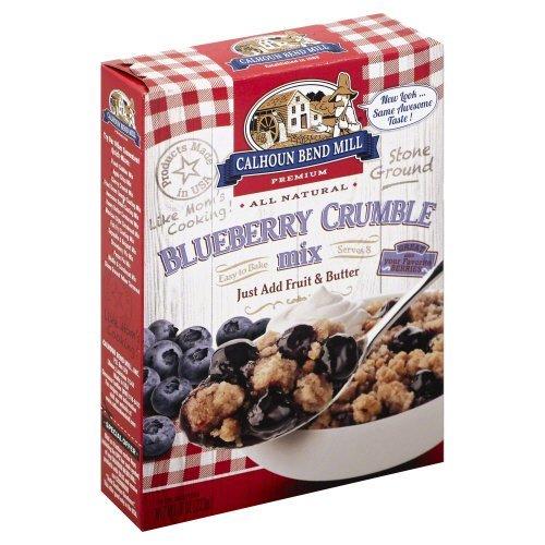 Calhoun Bend Mill Blueberry Crumble Mix 8 Ounces (Case of 6)
