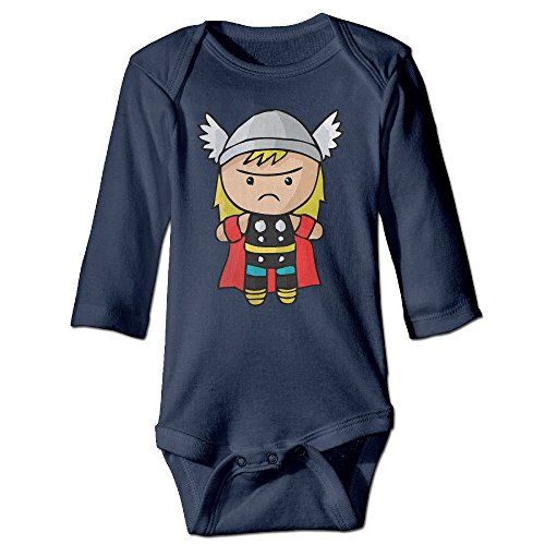 Unisex Baby Bodysuits The Cutest Cartoon Thor 12 Months ()