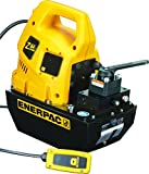 Enerpac ZU4308JB Universal Electric Pump with VM33 Jog Valve Standard 115V and 8 L Usable Oil Capacity