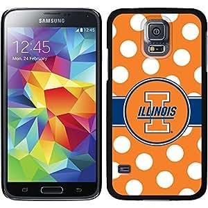 University of Illinois Polka Dots Samsung Galaxy S5 Thinshield Case by Coveroo