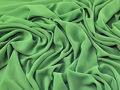 white, black Lightweight Georgette Polyester Check Plaid dressmaking fabric