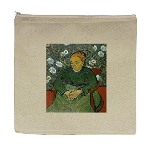 Cheap La Berceuse #1 (Van Gogh) Canvas Zipper Tote Bag Makeup Bag free shipping