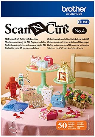 Brother USB No-4 3D Pattern Collection for ScanNCut