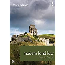 Modern Land Law: Volume 1