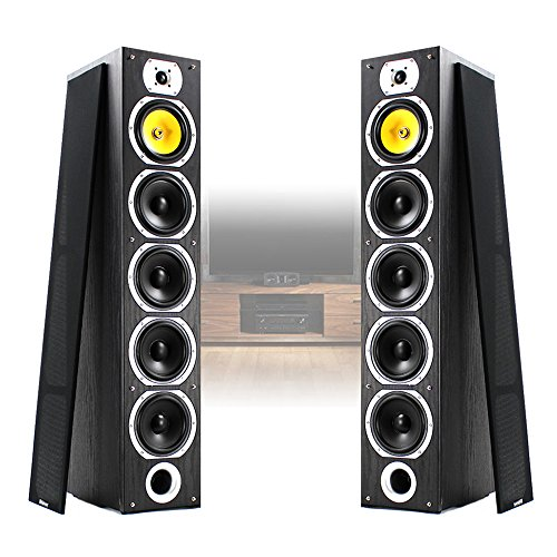 2x Fenton Passive Home HiFi Tower Speakers 600W Max