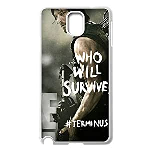 Innovation Design The Walking Dead Daryl Dixon Hard Shell Phone Case Lightweight Printed Case Cover for Samsung Galaxy Note 3 N9000 White 022707