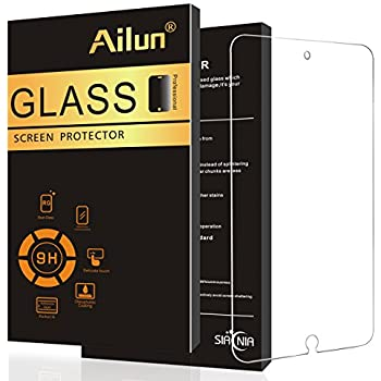 Ailun Screen Protector Compatible with iPad Pro 12 9 Inch 2015 and 2017  Model Premium Tempered Glass Apple Pencil Compatible Ultra Clear Anti