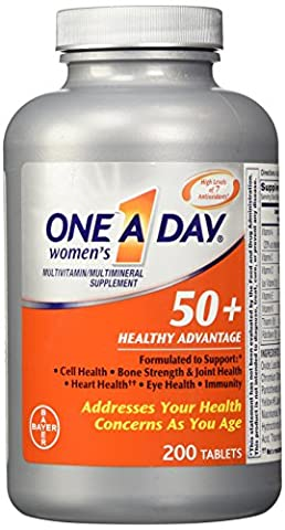 One A Day Women's 50 Plus Healthy Advantage 200 Tablets (One A Day Bayer)