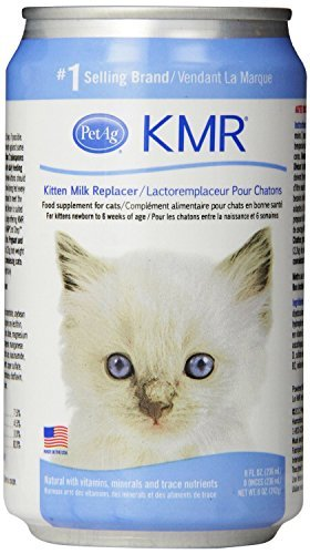 KMR Liquid Milk Replacer for Kittens & Cats, 8oz Cans, Case of 12 by KMR