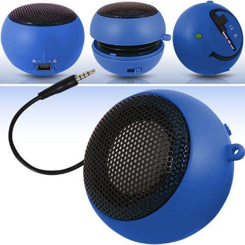 N4U Online N4U Online Blue Super Sound Rechargeable Mini Pocket Size Portable Speaker 3.5Mm Audio Jack Built In With Usb Charger Lead Suitable For Orange San Diego