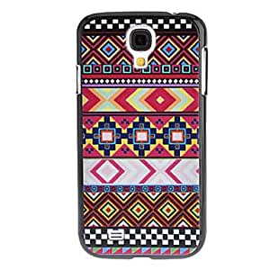 Colorful Fabric Grain Pattern Hard Case for Samsung Galaxy S4 I9500