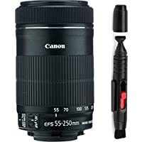 Canon 55-250mm IS STM Lens + Deluxe Lens Cleaning Pen