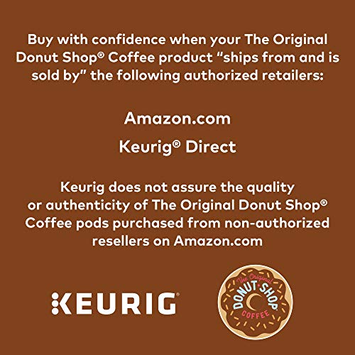 The Original Donut Shop Keurig Single-Serve K-Cup Pods, Regular Medium Roast Coffee, 72 Count by The Original Donut Shop (Image #6)