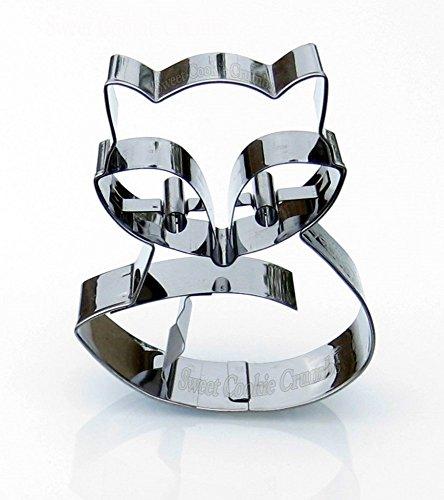 Fero Fox Cookie Cutter - Stainless Steel