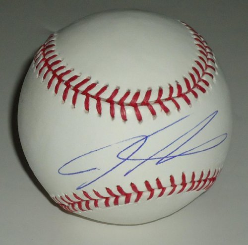 Josh Hamilton signed Official Major League baseball *Los Angeles Angels of Anaheim* Comes with a Certificate of Authenticity * Autographed baseballs