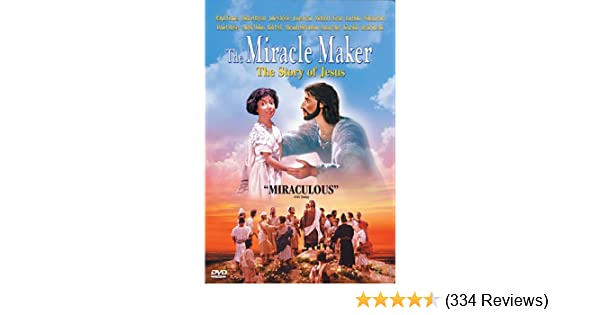 Amazon com: The Miracle Maker - The Story of Jesus: Ralph