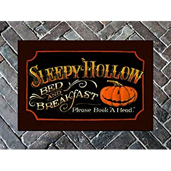 Mat - Sleepy Hollow Door Mat - Halloween