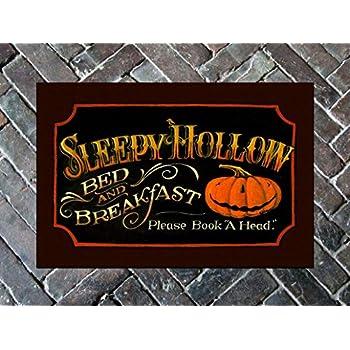 Mat - Sleepy Hollow Door Mat - Halloween
