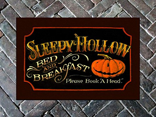 Mat - Sleepy Hollow Door Mat - -