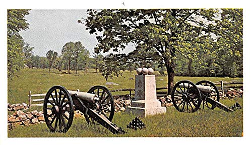 Civil War Post Card Old Vintage Antique Postcard Gettysburg National Military Park, PA Unused