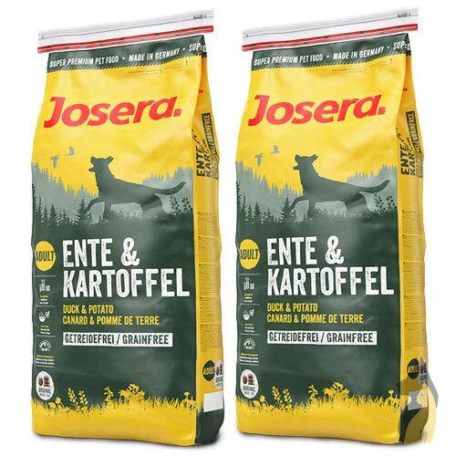 Josera 2 x 15 kg Ente und Kartoffel Hundefutter – Sparpaket