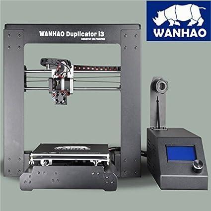 Wanhao i3 V2 - Impresora 3 D (precision de 0.1 mm, tamaño de la construcción: 200 x 200 x 180...