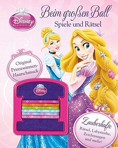 Disney Prinzessinnen Beim großen Ball - Spiele und Rätsel: Mit märchenhaften Haarbändern