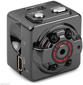 CHENTAOCS Mini Full HD 1080P Car DV VCR Car Driving Recorder Camera Mini Night Video Recorder Camera Night Vision DVR Easy to use (Color : Black)