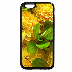 iPhone 6S / iPhone 6 Case (Black) Flower