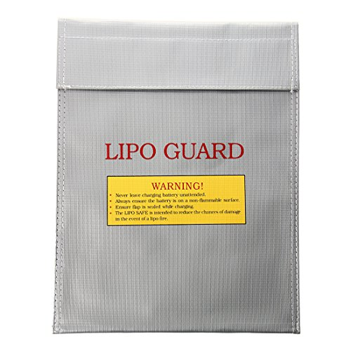 Fire Extinguishers Charge Weight - TOOGOO(R) RC Li-Po Battery Fireproof Safety Guard Safe Bag Charge Charging Sack 23x30