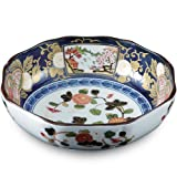 Seven-sun Morihachi ama-604709 conceded Imari to enjoy the charm of porcelain classic pattern (japan import)