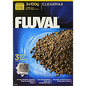 Fluval Clearmax Phosphate Remover Filters, 3.5 Ounces - 3-Pack 41