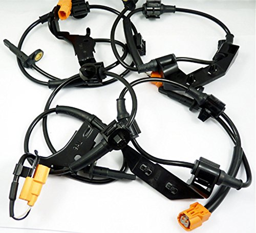 New ABS Wheel Speed Sensor Front Rear Left Right 4pcs 57470S9A013 For Honda CR-V 2002-2006 Rejog4 Auto