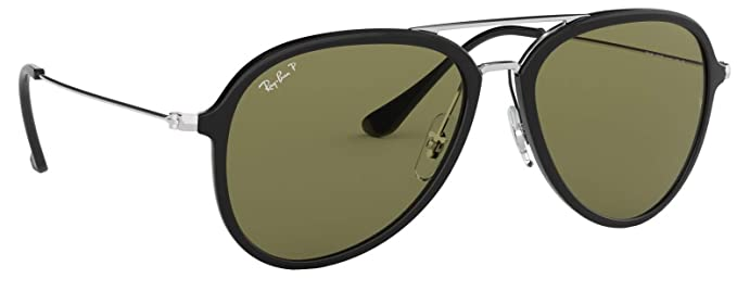 Amazon.com: Ray-Ban rb4298 polarizadas Unisex piloto ...