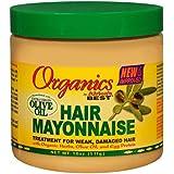 Africa's Best Mayonnaise Organics pour les cheveux - Traitement pour les cheveux endommagés - 425 g