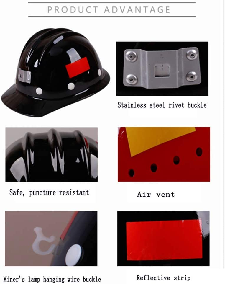 and General Headwear Protection Personal Protective Equipment YZJJ Hard Hat Keep Cool Vented Helmet Durable Protection safety helmet For Work Home Head Protection