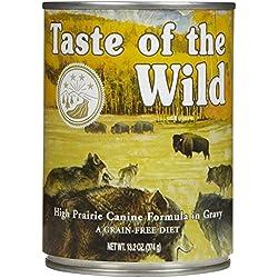 Taste of the Wild Dog Food in Gravy - High Prairie - 13.2 oz - 12 pk