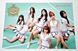 AOA - Heart Attack (3rd Mini Album) CD + Photo Booklet + Folded Poster + Postcard + Sticker + Extra Gift Photocard