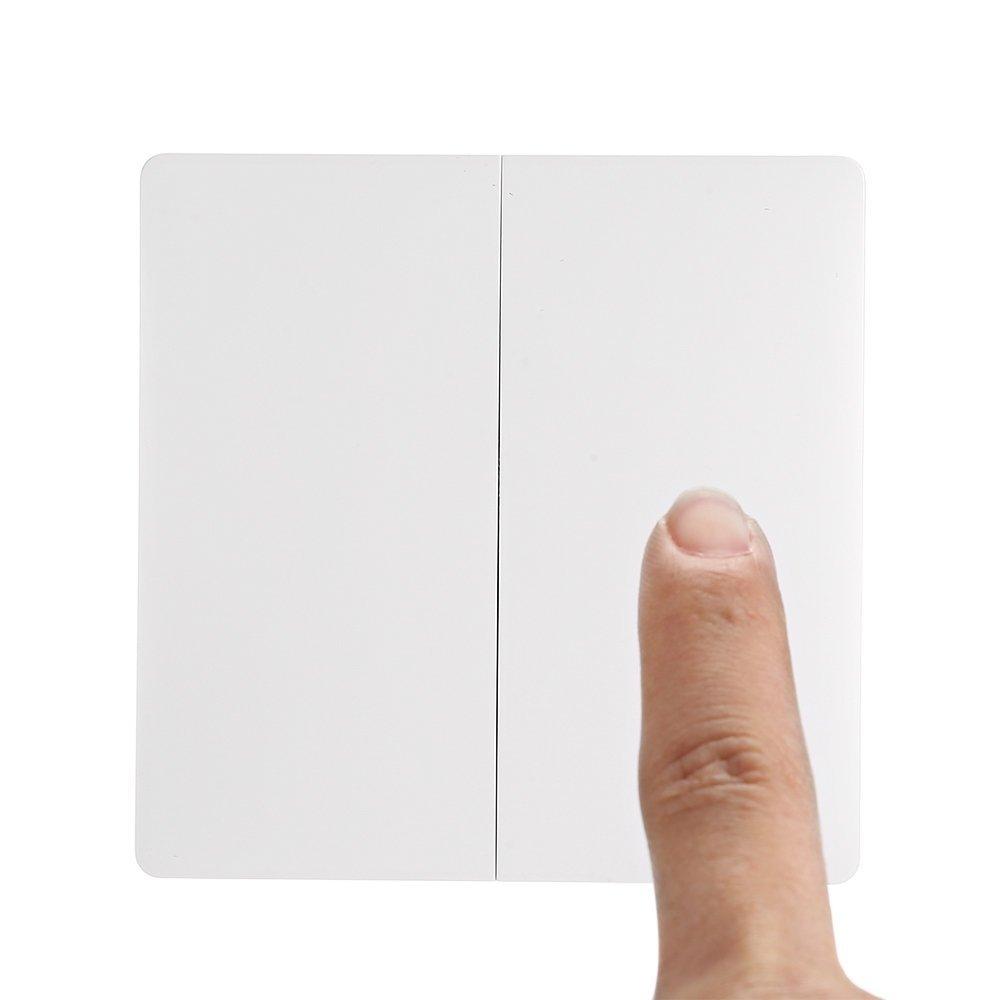 Tini Regner WXKG02LM Aqara - Interruptor de luz inalá mbrico (doble tecla)