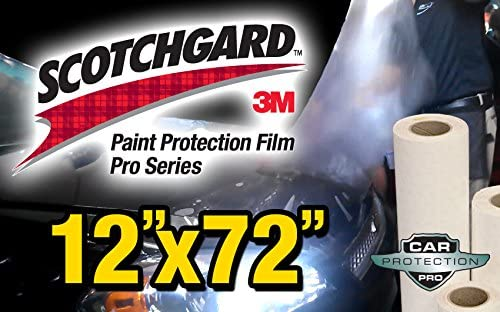 "3M Scotchgard 8MIL Car Paint Protection Film PPF 6/"" Clear Genuine Film Roll"