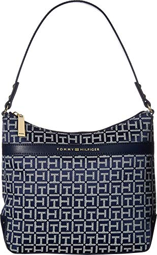Hilfiger Abington Hobo Tommy White Womens Navy qwaA7xnZW
