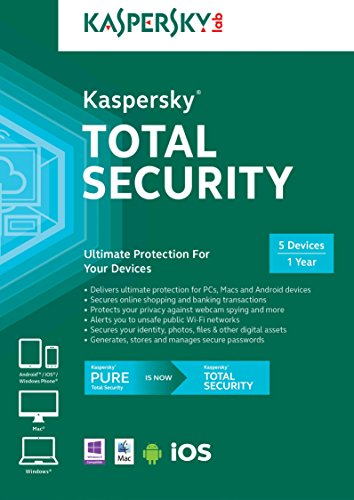 Kaspersky Total Security - 5 Devices [Online Code] [OLD Version] by Kaspersky