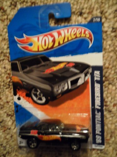 hot wheels 69 pontiac firebird - 1